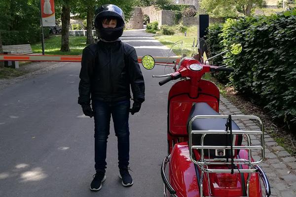 Max erste Touren 2020